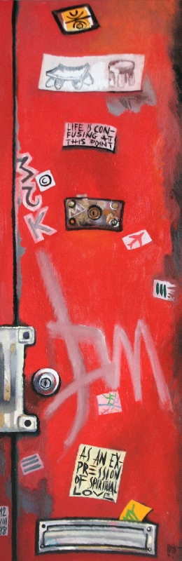 BASQUIAT'S DOOR - 120x40
