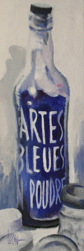 BLUE BOTTLE - 44x15