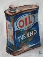 OIL THE END - 27x35