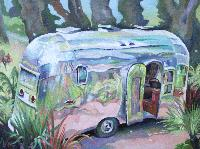 AIRSTREAM FLYING CLOUD - 46x61