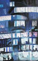 URBAN NIGHT WRITING - 116x73