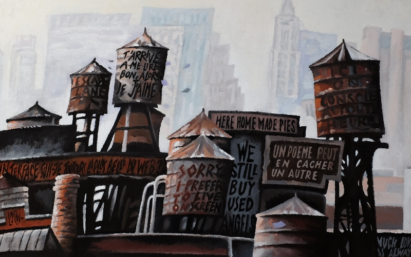 WATER TOWERS STORY - 73x116
