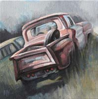 CHEVROLET IN THE FIELDS - 30x30